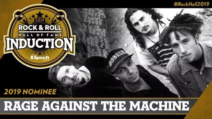 Rage Against The Machine no Hall da Fama 2019