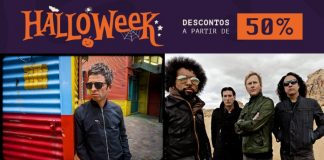 Halloweek: compre ingressos de Noel Gallagher Alice In Chains