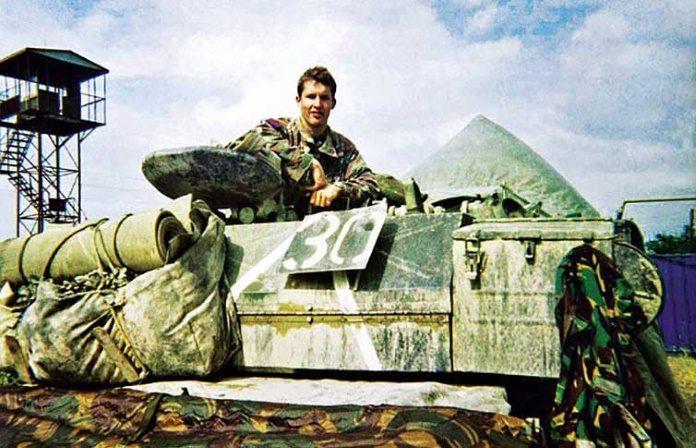 James Blunt na Guerra