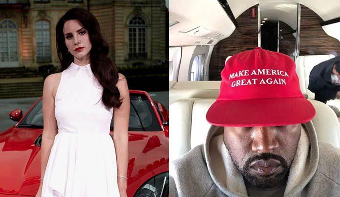 Lana Del Rey e Kanye West