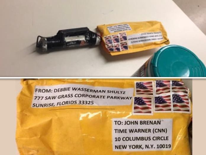 Pacotes-bomba isolados pela polícia