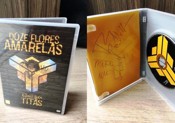 Promoção valendo DVD do Titãs