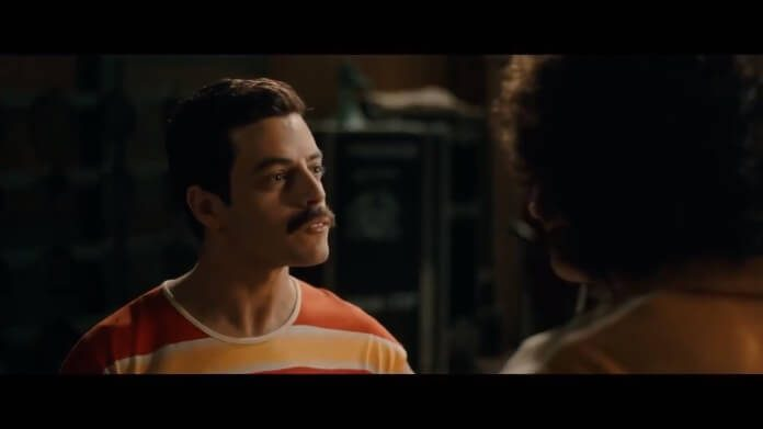 Rami Malek como Freddie Mercury em Bohemian Rhapsody