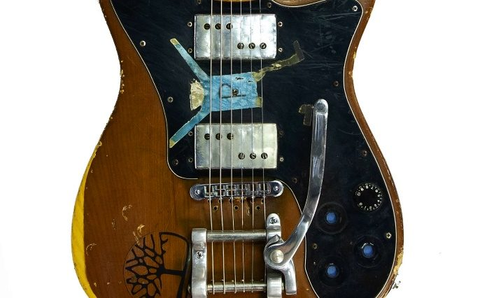 Guitarra do Sonic Youth