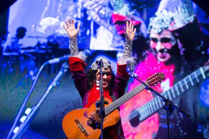 Marisa Monte no show dos Tribalistas