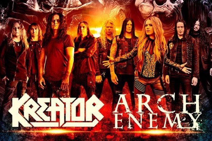 Arch Enemy e Kreator