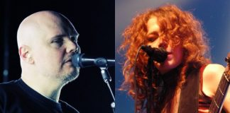 Billy Corgan (Smashing Pumpkins) e Melissa Auf der Maur