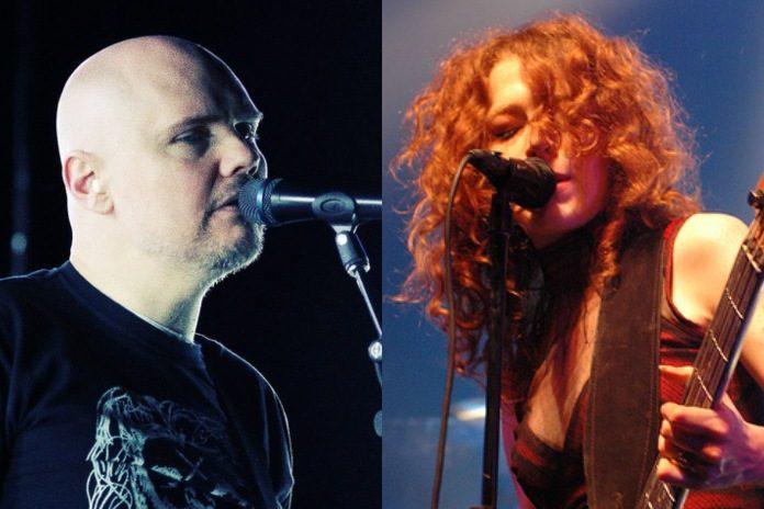 Billy Corgan (Smashing Pumpkins) e Melissa Auf der Maur