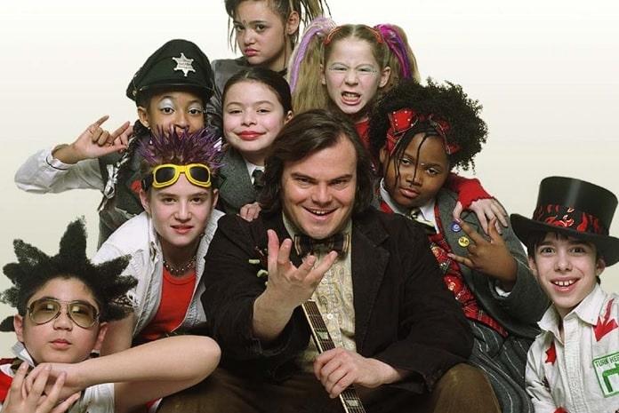 """Jack Black reúne parte do elenco de """"Escola de Rock"""" em shows do ..."""