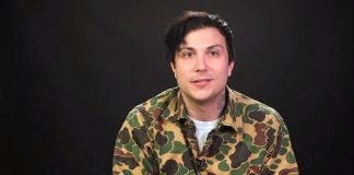 Frank Iero (My Chemical Romance)
