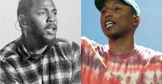 Kendrick Lamar e Pharrell Williams