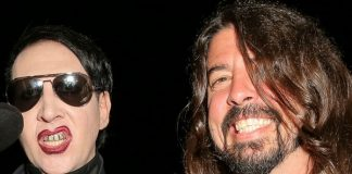 Marilyn Manson e Dave Grohl (Foo Fighters)
