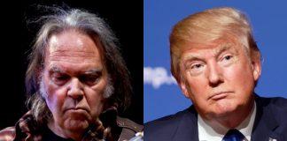Neil Young e Donald Trump