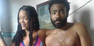 Rihanna e Donald Glover (Childish Gambino) em filme