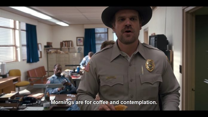 Stranger Things e Café
