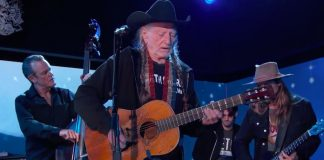 Willie Nelson no programa de Jimmy Kimmel