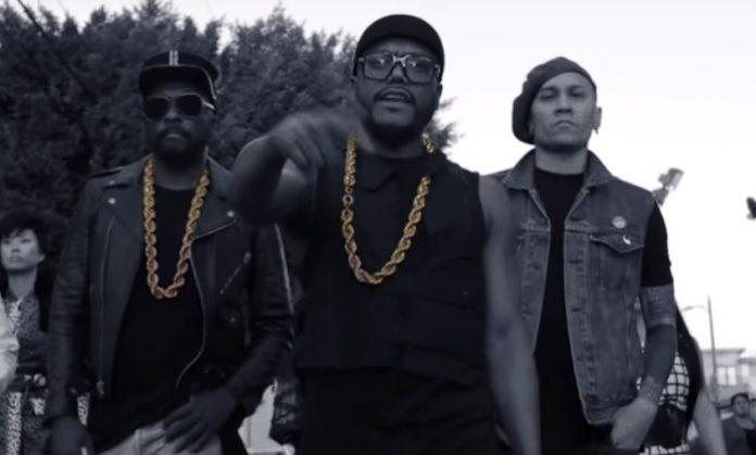 The Black Eyed Peas no clipe de