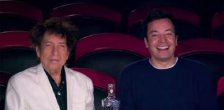 Bob Dylan e Jimmy Fallon no circo