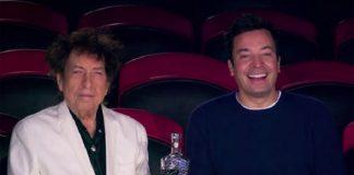 Bob Dylan e Jimmy Fallon no circo
