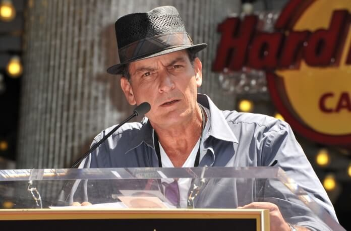 Charlie Sheen no Hard Rock Cafe, 2012