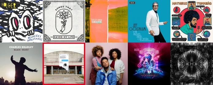 Lançamentos de discos nacionais e internacionais