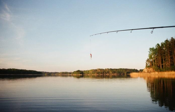 Foto de pescaria