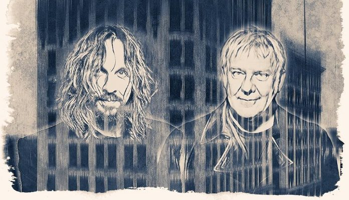 Marco Minnemann e Alex Lifeson, do Rush