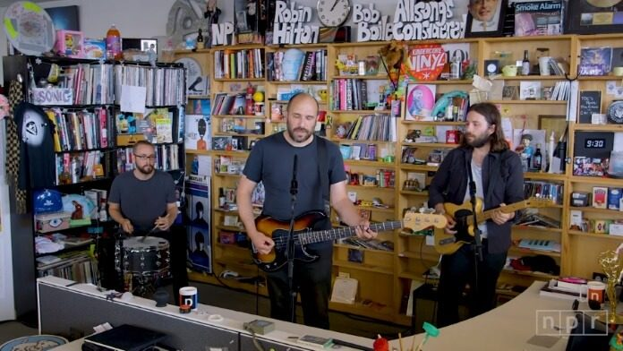 Pedro The Lion no Tiny Desk, da NPR