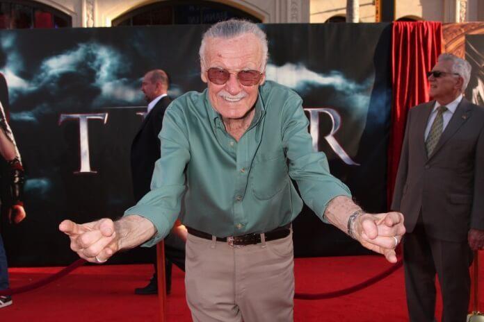 Stan Lee na estreia de Thor em 2011