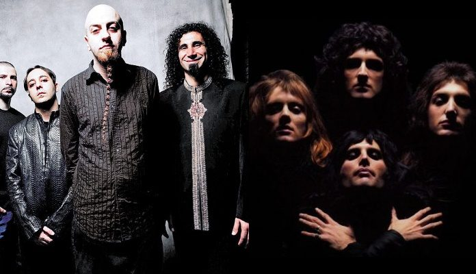 System Of A Down e Queen