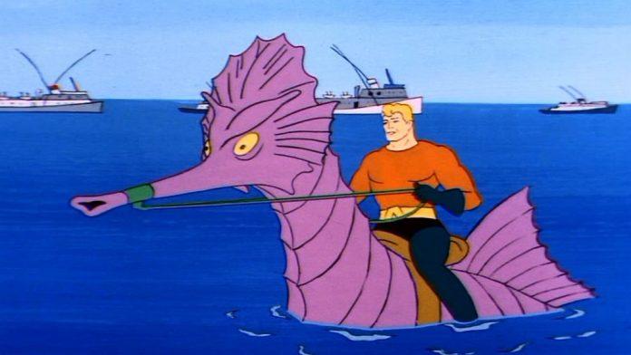 Aquaman nas animações clássicas para TV