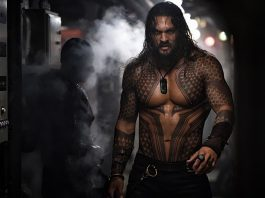 Jason Momoa como o Aquaman dos cinemas