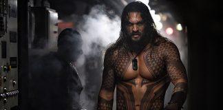 Jason Momoa como o Aquaman dos cinemas