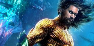 Jason Momoa como o Aquaman