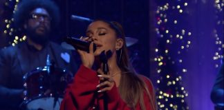 "Ariana Grande apresenta ""Imagine"" no programa de Jimmy Fallon"