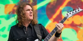 David Ellefson Megadeth Metallica