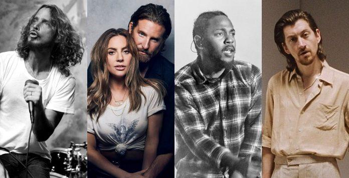 Indicados Grammy (Chris Cornell, Lady Gaga, Kendrick Lamar e Arctic Monkeys)