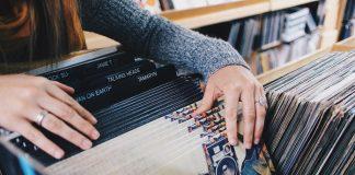 Loja de discos de vinil LP