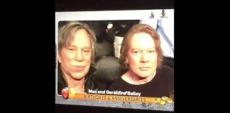Mickey Rourke e Axl Rose (Guns N Roses)
