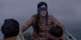 Sandra Bullock em Bird Box