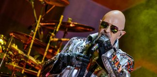 Rob Halford do Judas Priest no Solid Rock