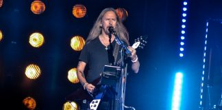 Jerry Cantrell Alice in Chains no Solid Rock
