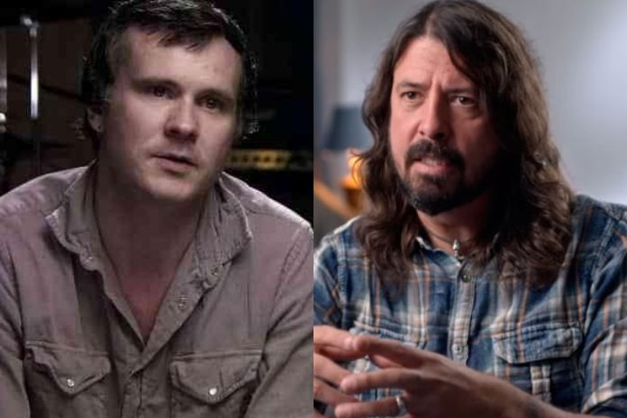 William Goldsmith (Sunny Day Real Estate) e Dave Grohl (Foo Fighters)