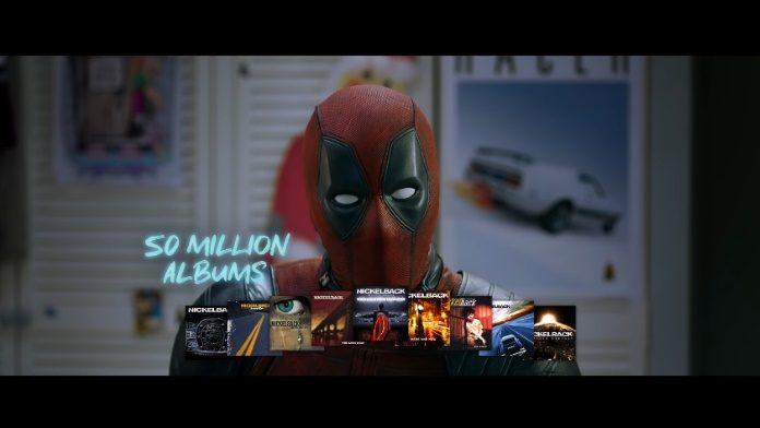 Deadpool defende Nickelback