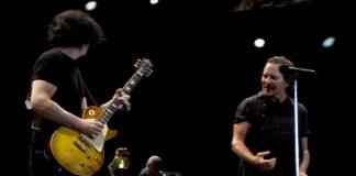 Jack White com o Pearl Jam
