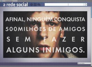 A Rede Social Poster (Facebook, Mark Zuckerberg)