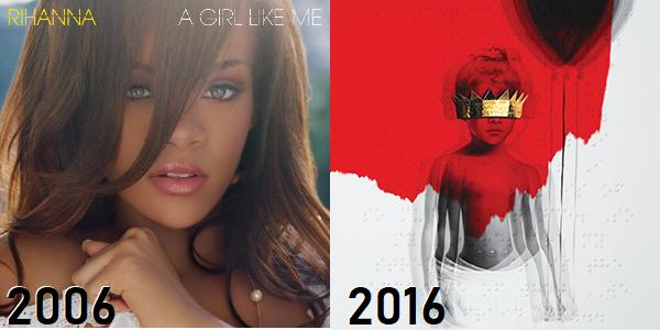 Rihanna - de A Girl Like Me até ANTI