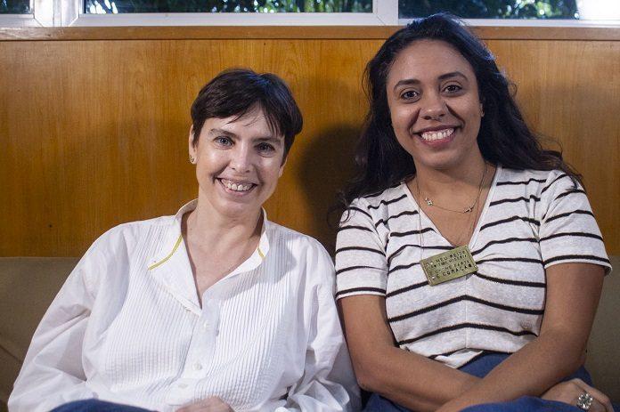 Adriana Calcanhotto e Fabiane Pereira