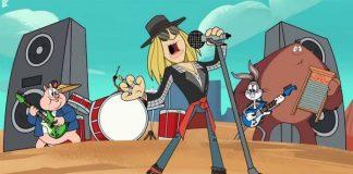 Axl Rose em Looney Tunes