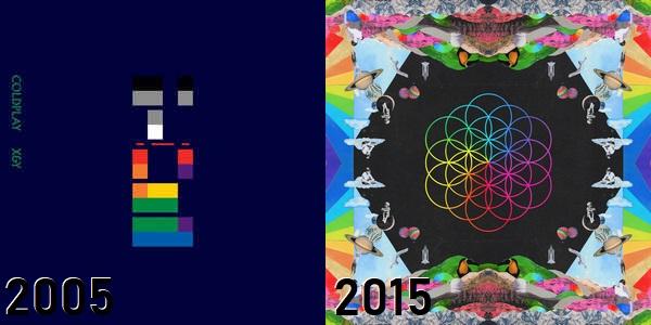 Coldplay - de X&Y até A Head Full Of Dreams